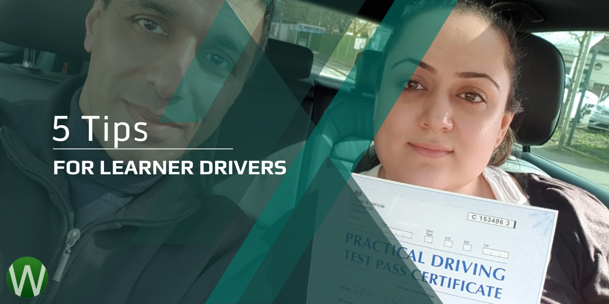 5 Tips For Learner Drivers