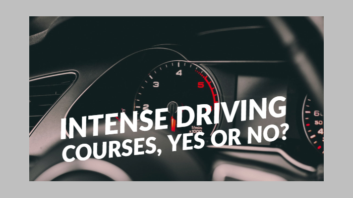 Intense Driving Courses, Yes Or No?