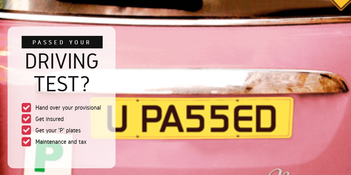 Passed Your Driving Test