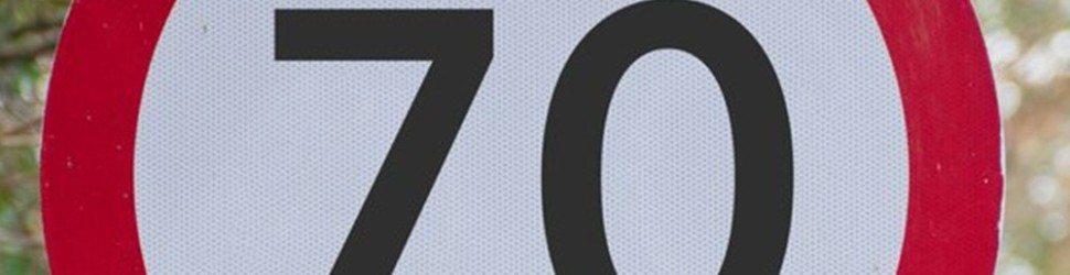 70mph MOTORWAY