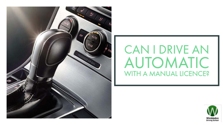 automatic driving license to manual