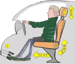 Seat adjustments