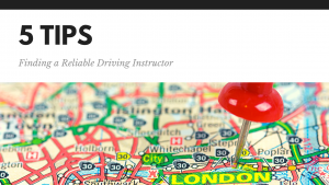 5 Tips for Finding a Reliable Driving Instructor
