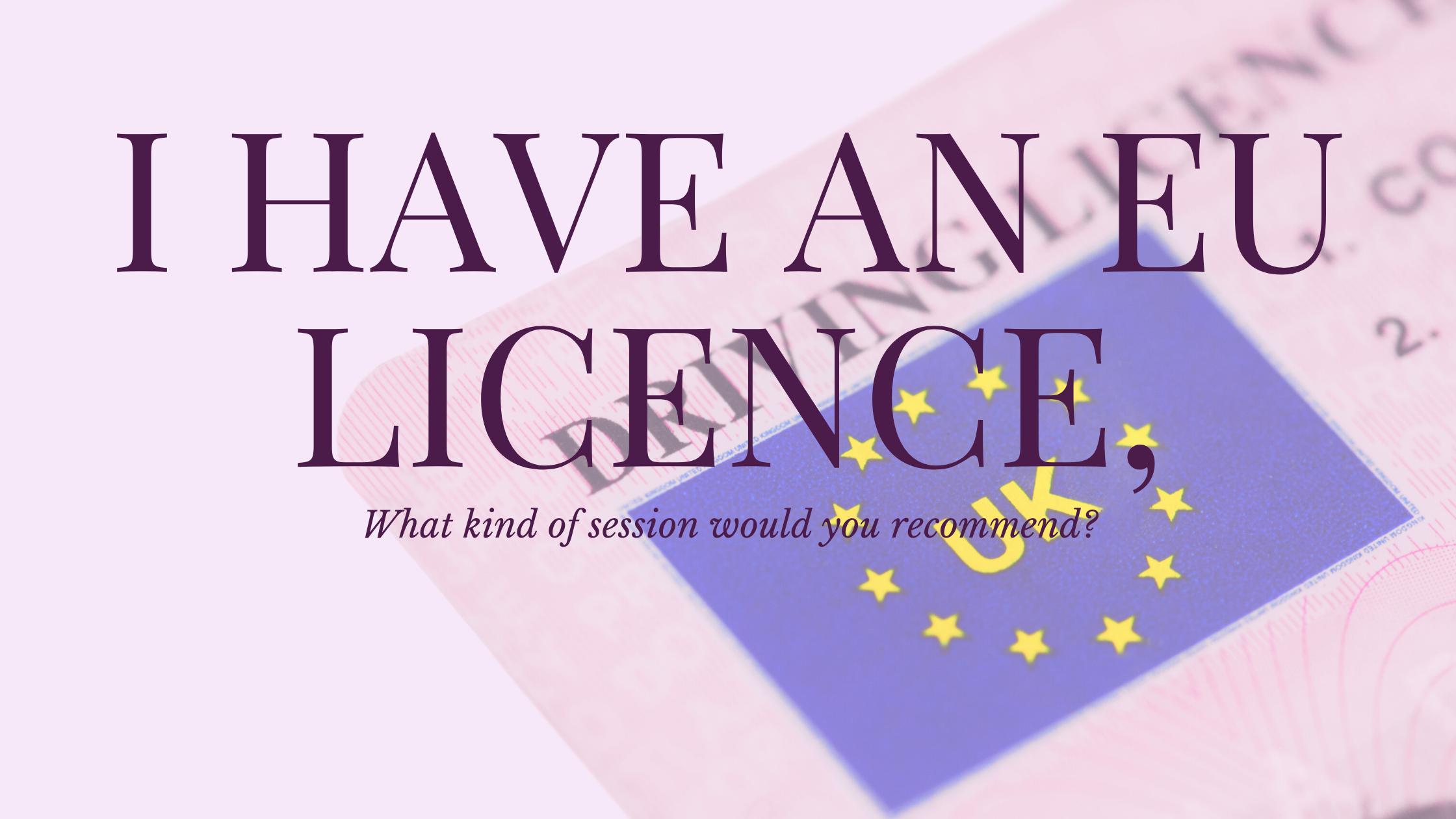 EU Licence